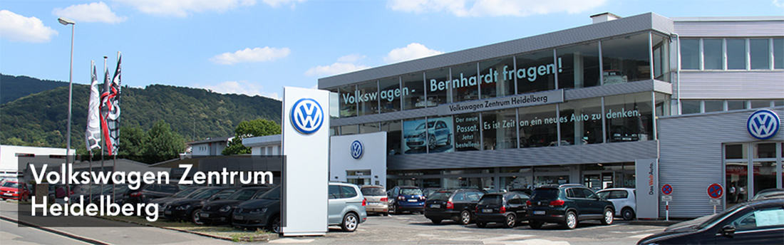 vw volkswagen in heidelberg autohaus bernhardt. Black Bedroom Furniture Sets. Home Design Ideas
